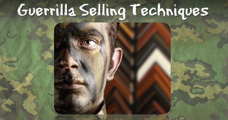Guerrilla Selling Techniques Banner