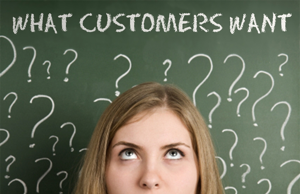 What Customers Want Background